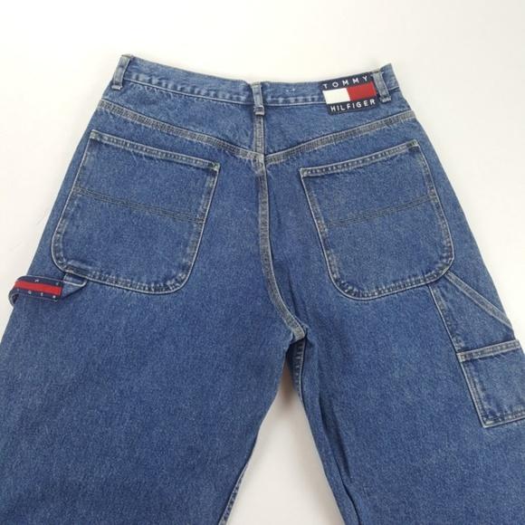 VTG Mens Tommy Hilfiger Carpenter Jeans Size 33x32